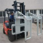 Mga Hydraulic Forklift Attachment Log Holder