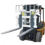 Mga Hydraulic Attachment Hinged Fork Forklift