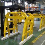 Ang hatag-as nga kalidad nga kalidad nga Forklift Concrete Bell Type Block Clamp Alang Sa Gibaligya