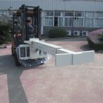 Ang Hydraulic Forklift Attachment Glass Handler