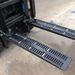 Type ang WF2A1100 forklift wheel forks nga ibaligya